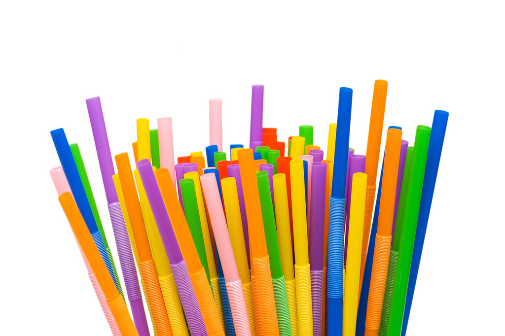 Straws and disposable plastics to be banned in England