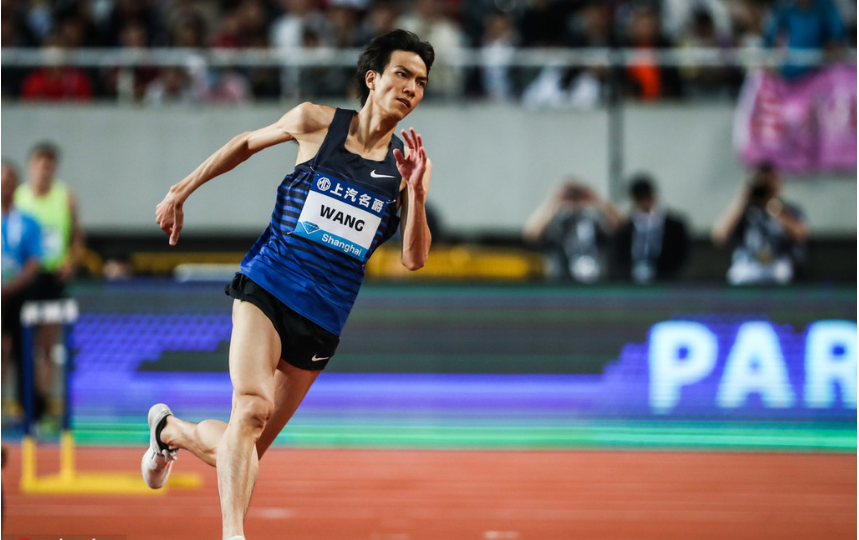 Chinese high jumper Wang Yu achieves world leading mark in Nanjing