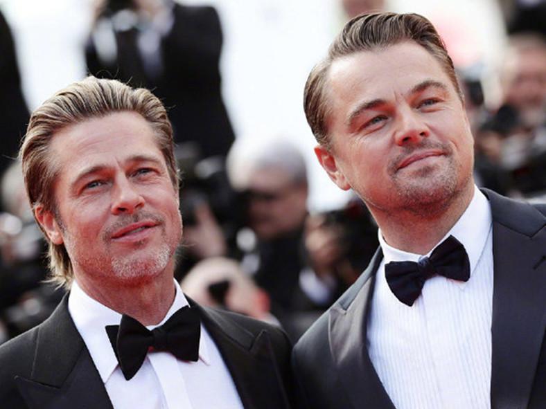 Brad Pitt and Leonardo DiCaprio attend Cannes Film Festival