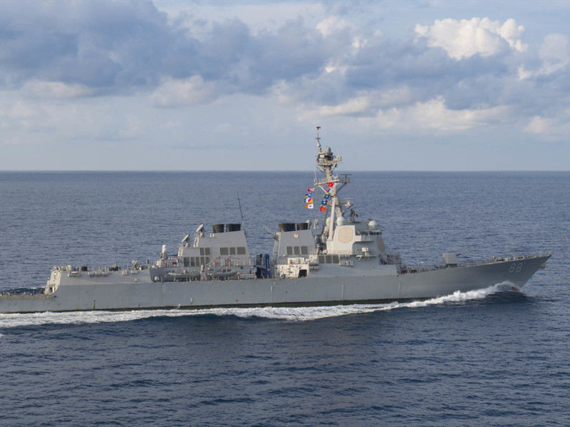 Beijing concerned over US warships' latest transit in Taiwan Strait