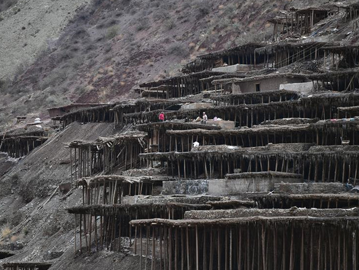 Ancient technique of salt production well-preserved in Mangkam County, China's Tibet