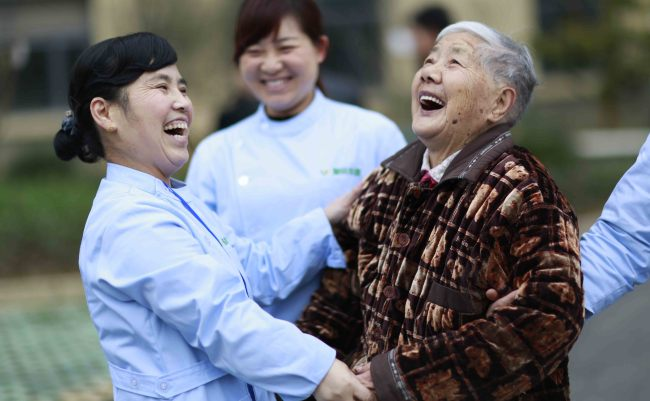 Life expectancy of Chinese increases by 42 years in nearly 70 years
