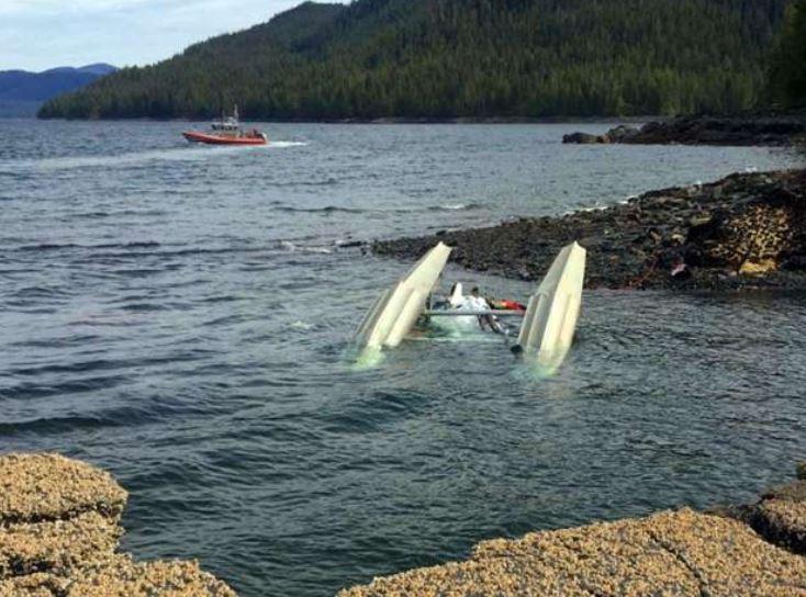 Pilot saw flash just before Alaska midair collision