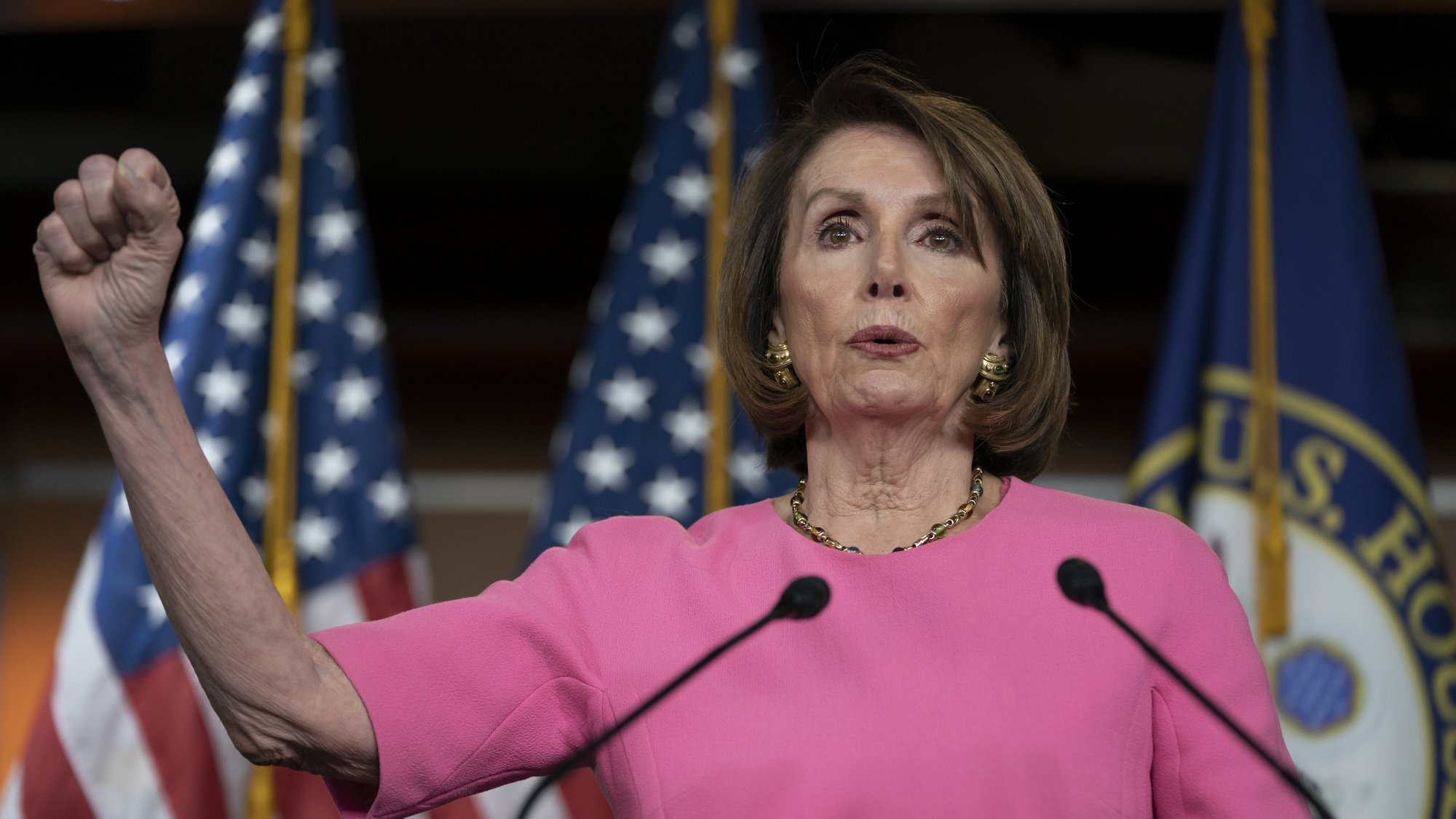 Pelosi questions Trump's fitness to stay