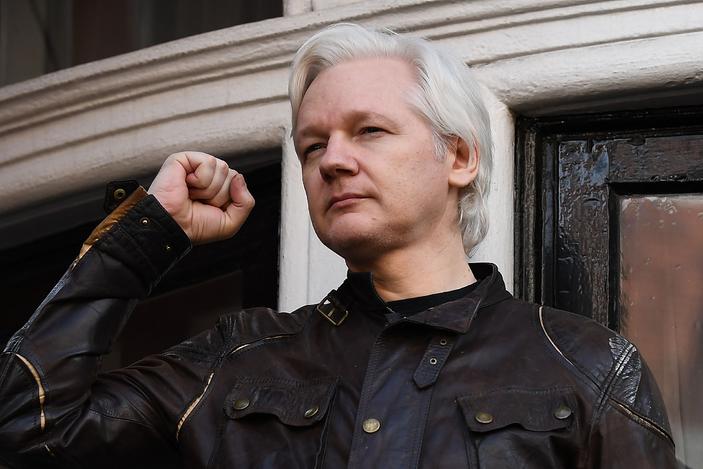 US files 17 new charges against WikiLeaks co-founder Julian Assange