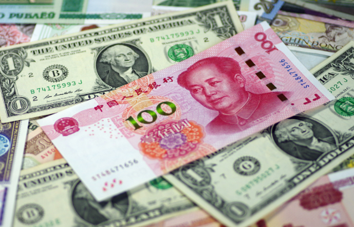 China's foreign exchange market turnover at 18.99 trln yuan