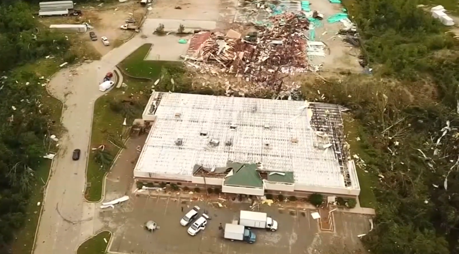 Massive tornado left trail of destruction in Jefferson City, Missouri