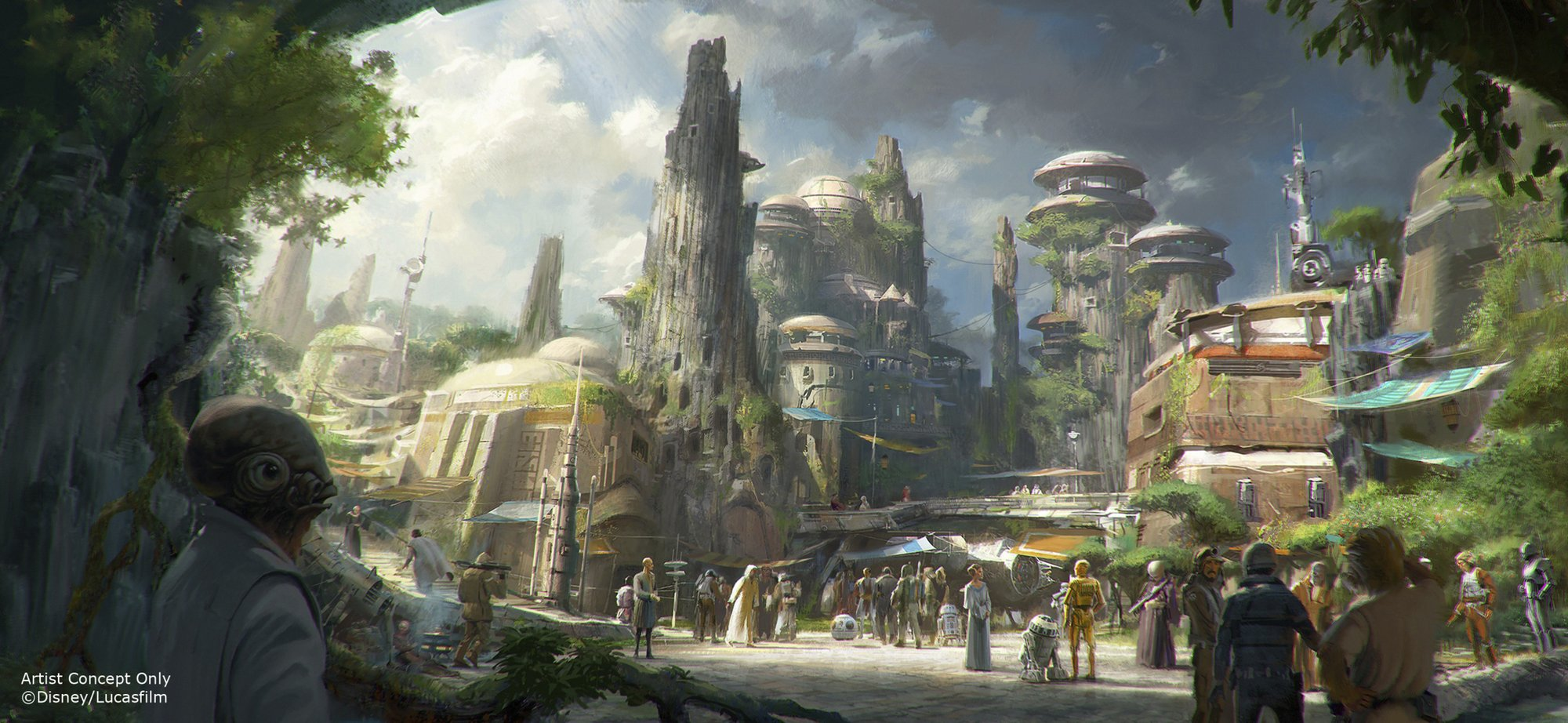 'Move along': Stormtroopers ready for Star Wars land crowds