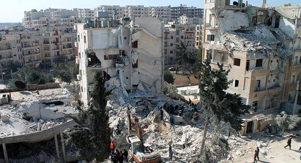 Russia denies chemical attack in Syria's Idlib