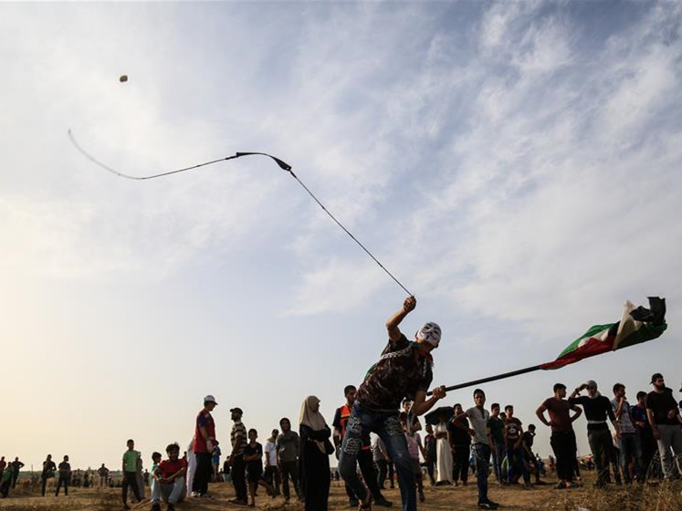 At least 16 Palestinians injured in clashes during weekly anti-Israel protests