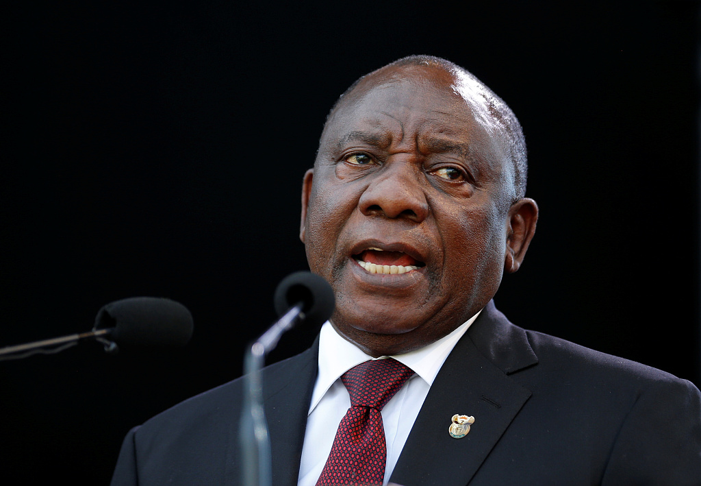 Newly-elected S. African president pledges to end corruption, poverty