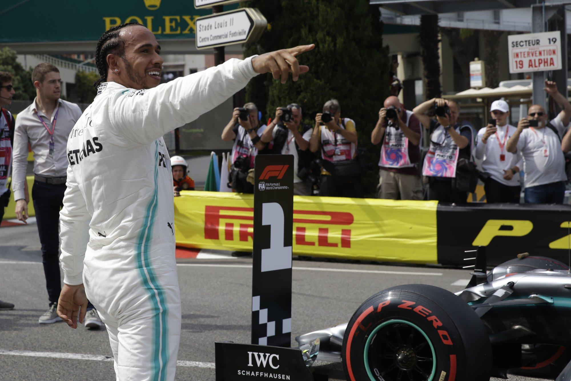Hamilton dedicates Monaco GP pole to friend and mentor Lauda