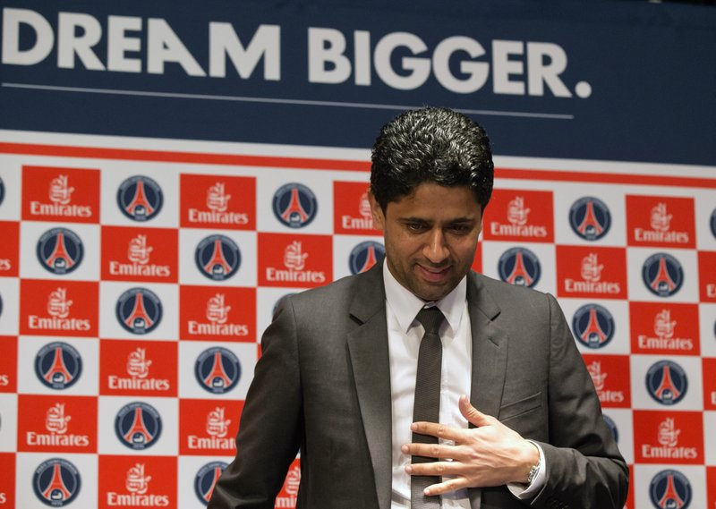 Soccer club president latest tie to French corruption probe
