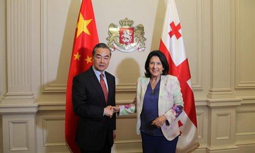 China, Georgia pledge to enhance all-round cooperation under BRI