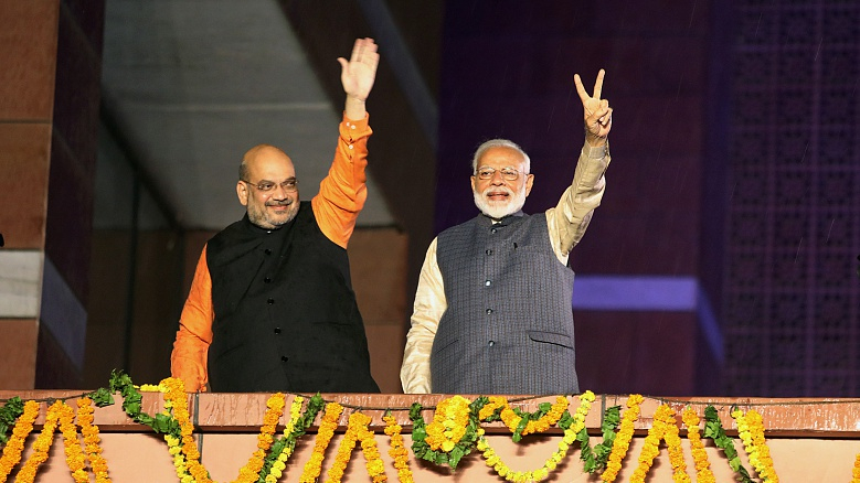 Modi promises to fulfill Indians' aspirations in 2nd term