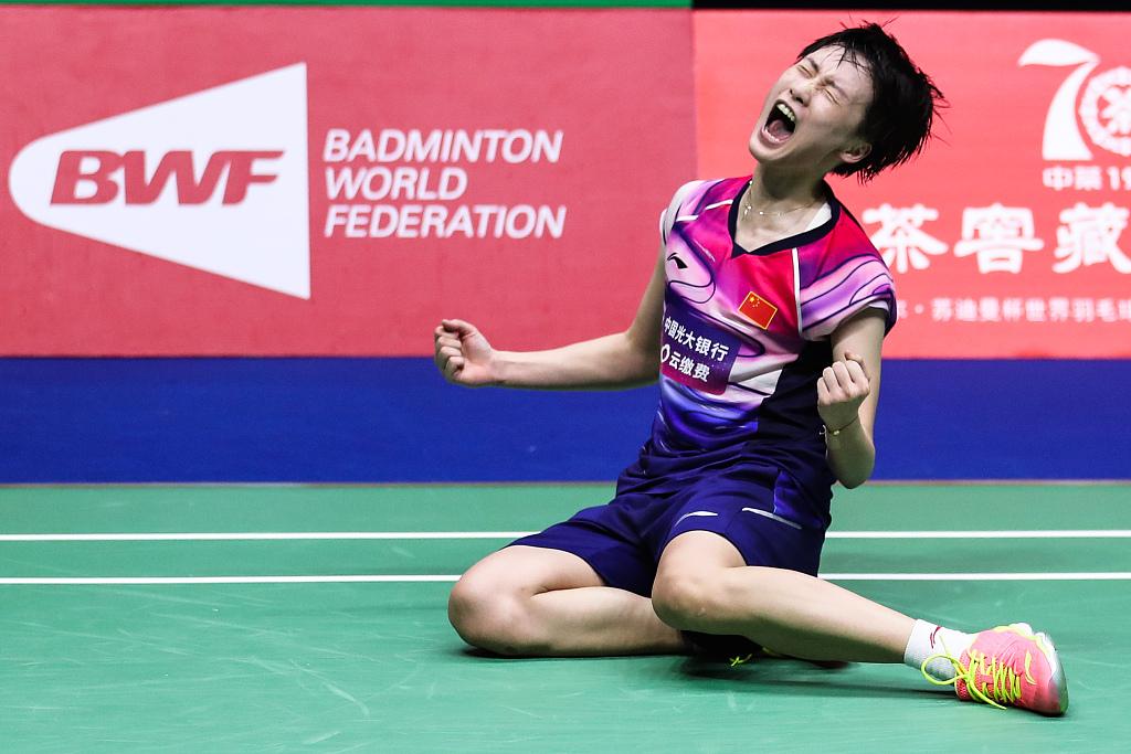 China beats Japan 3-0 to win record 11th Sudirman Cup