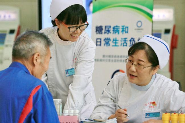 China improves basic public healthcare services
