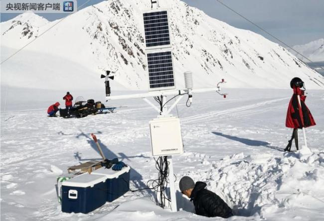 China's first North Pole station begins expedition