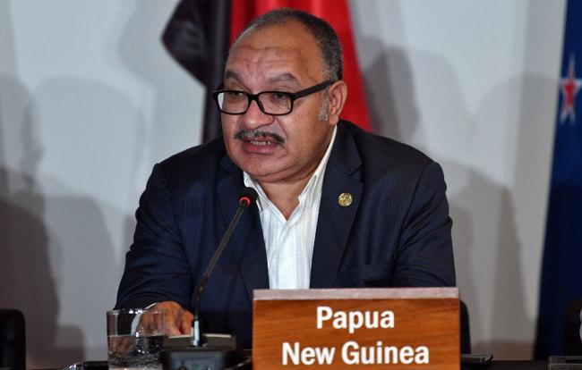 PNG PM O'Neill announces resignation