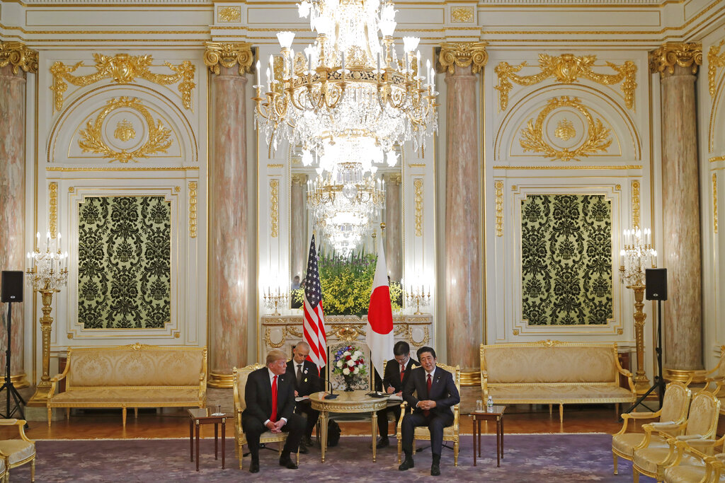 Japan, US leaders affirm importance of alliance in summit talks in Tokyo
