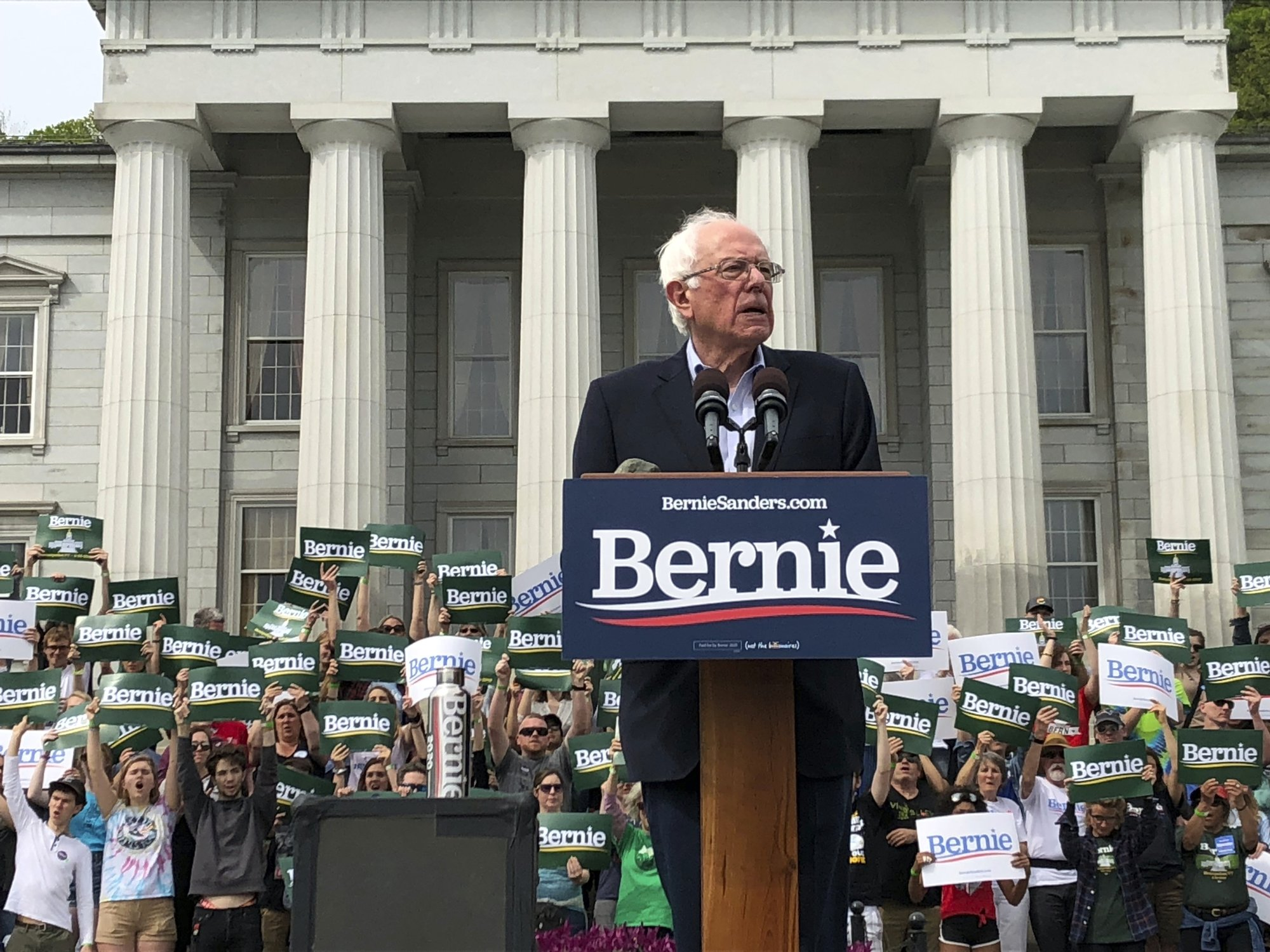 Bernie Sanders holds first home state rally of 2020 campaign