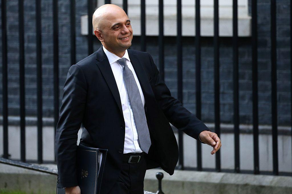 UK interior minister Javid enters leadership race