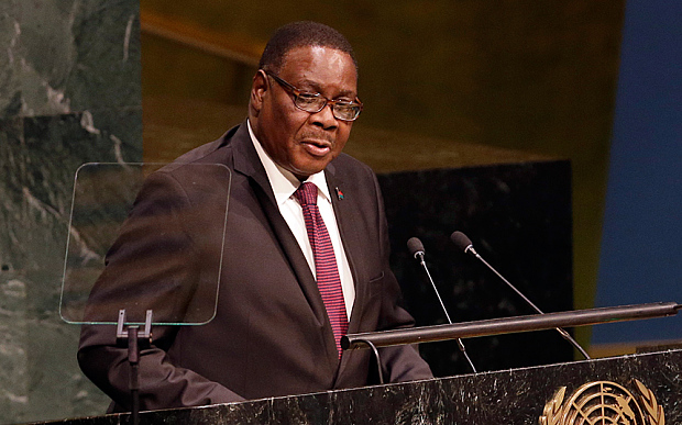 Malawi's Mutharika declared winner of tight presidential election