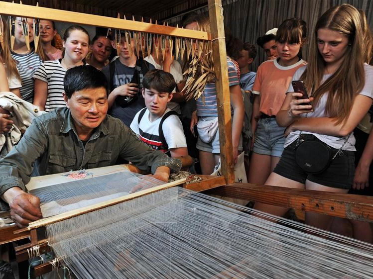 Museum exhibits local sericulturist's collection of tools for silkworm raising in China's Zhejiang