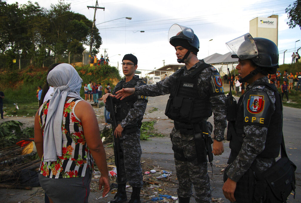 Brazilian officials say 42 inmates found dead at 3 prisons