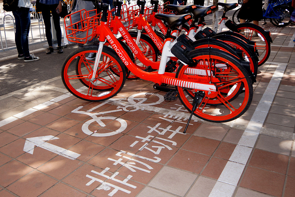 Bike-sharing companies to charge dispatch fee to avoid random parking in Beijing