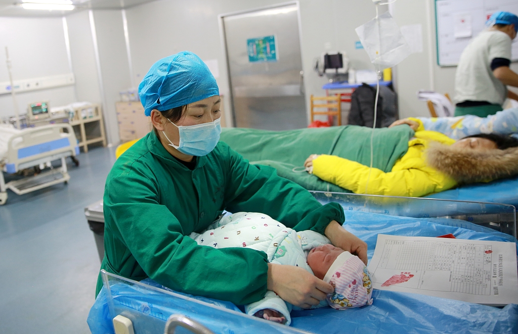 China has over 3,000 maternal and child health care institutions