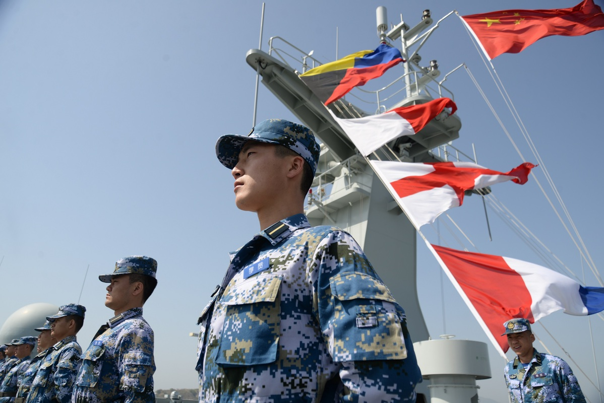 'Graduation voyage' for cadets on naval training ship
