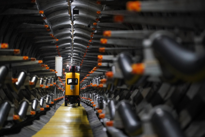 AI technology employed to build smart cable tunnel in East China