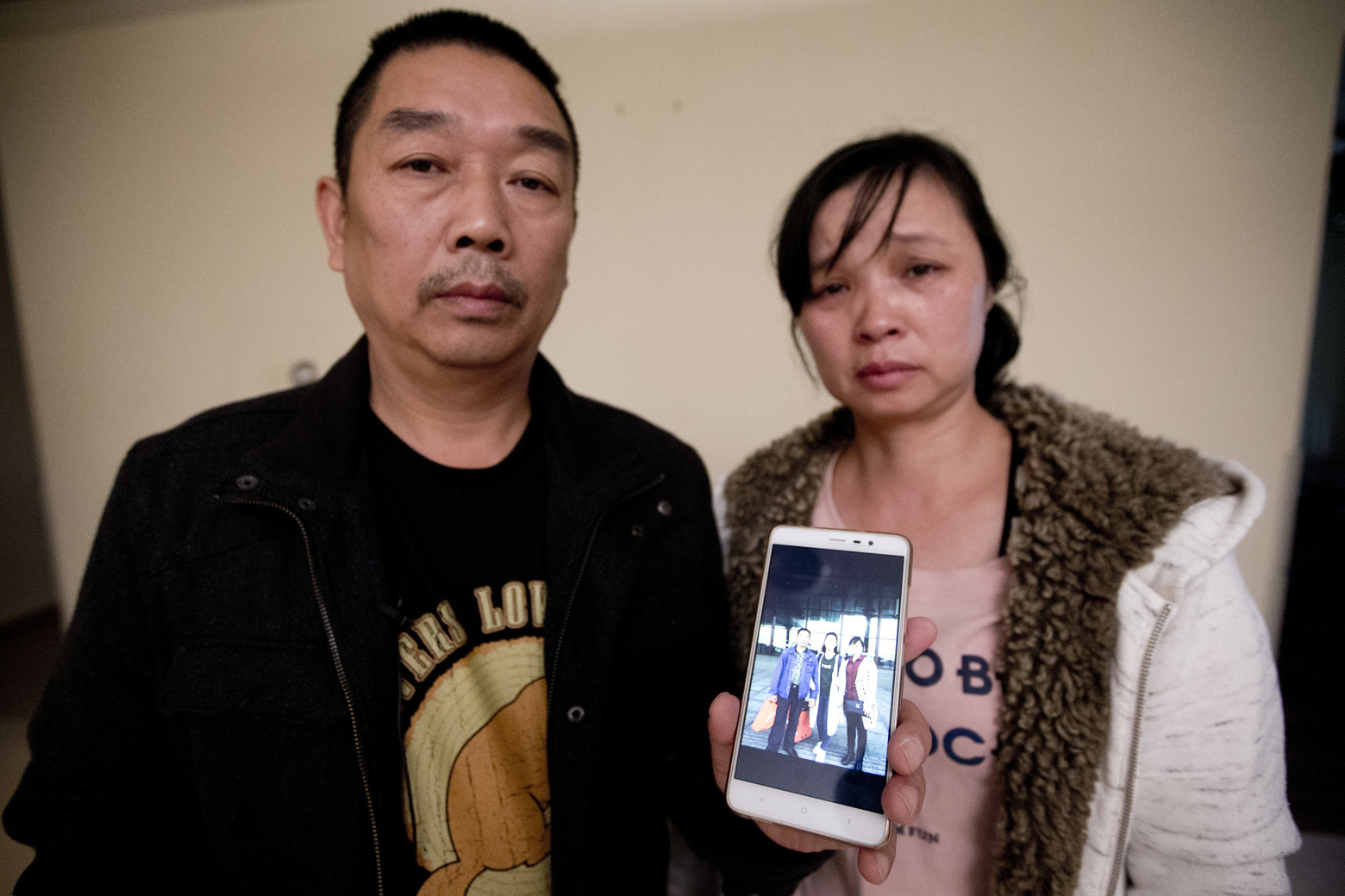 Missing Chinese scholar's parents arrive in US for trial