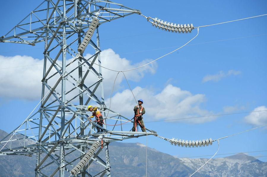 Higher electricity consumption generating economic momentum