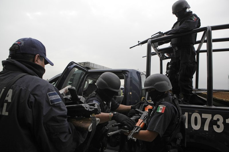 Top Mexico City gang leaders arrested