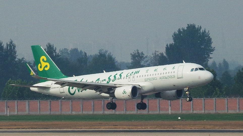 Spring Airlines' new Shanghai-Yangon direct flights halve travel time