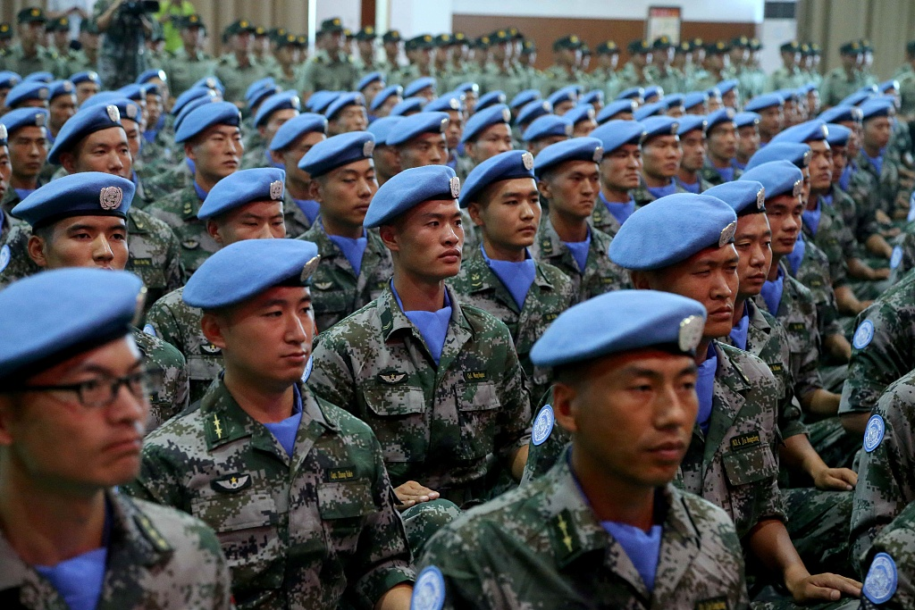 South Sudan praises Chinese peacekeeping troops