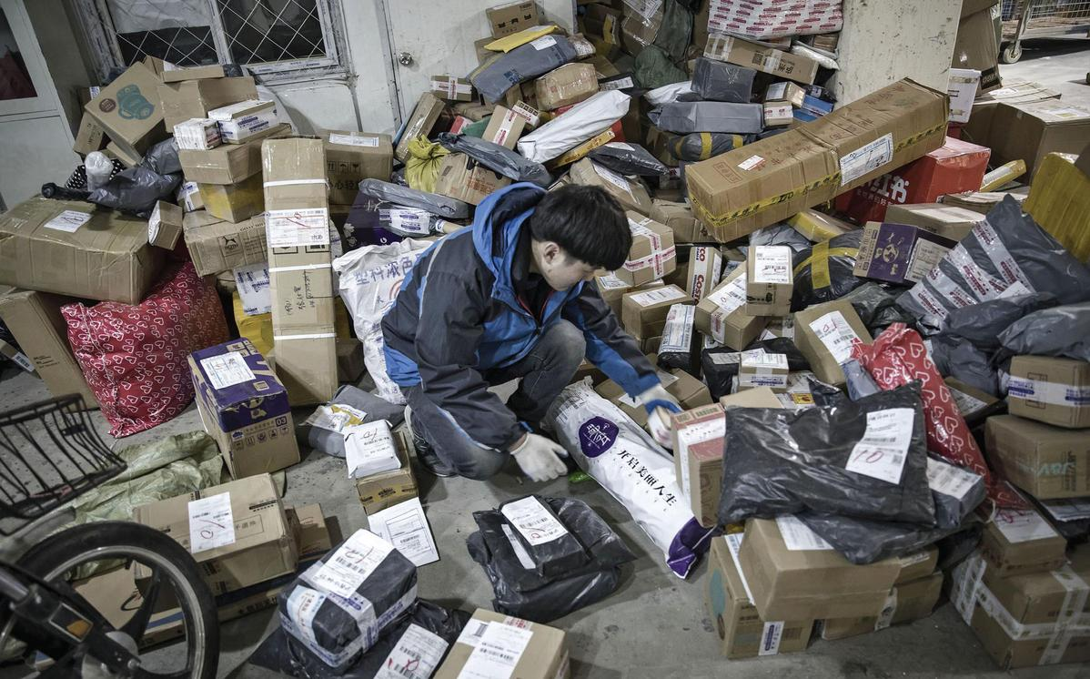 Express delivery companies rush to improve their green credentials