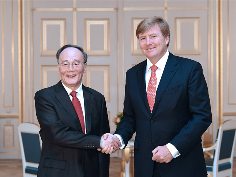 Chinese vice president visits Netherlands, vows common development