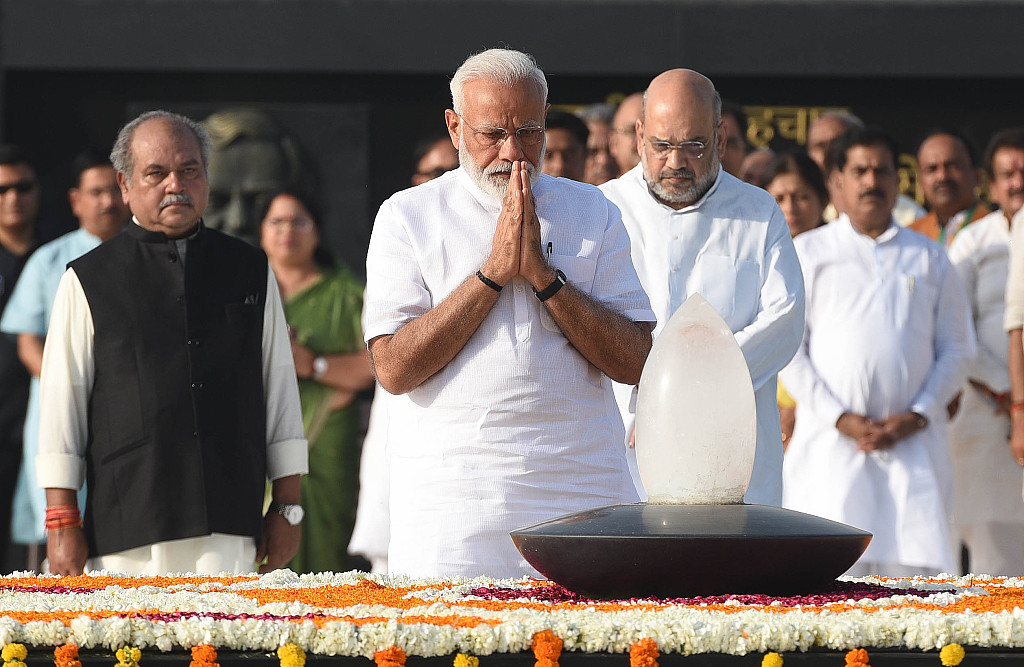 Modi takes oath as Indian PM for 2nd term