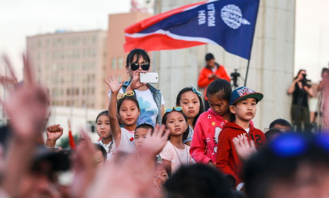 Thousands rally in Ulaanbaatar to call for government to resign