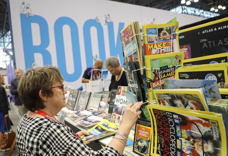 2019 BookExpo America held in New York