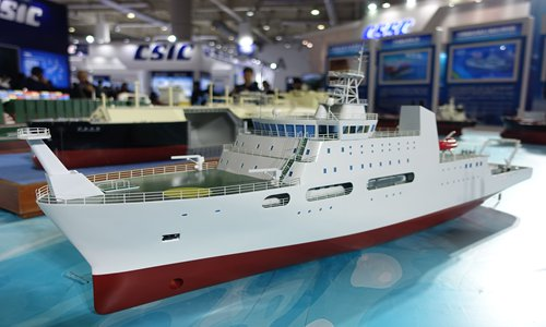 World's largest silent research vessel built in China