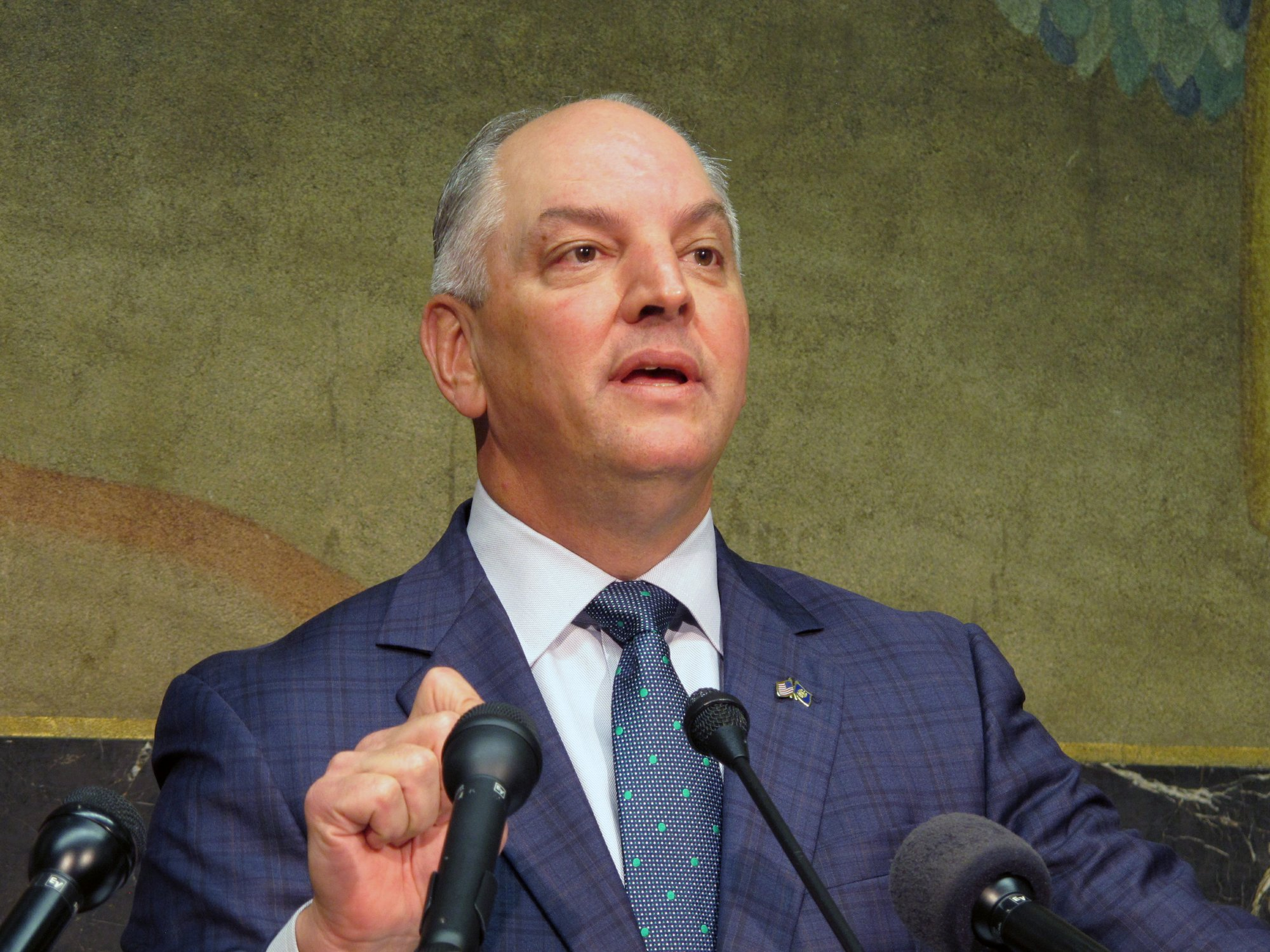 US Louisiana governor signs abortion ban into law