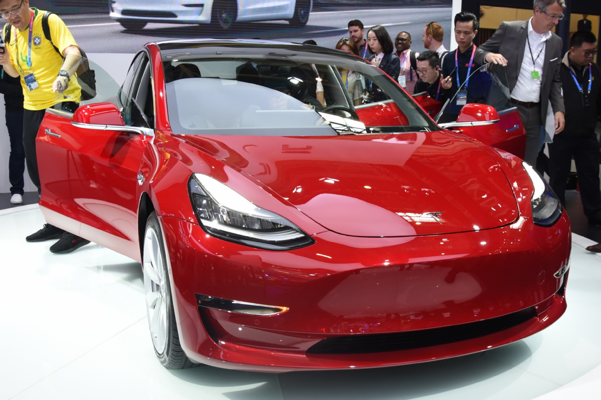 First China-made Tesla booked in 3 min