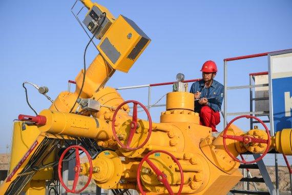 Gas replacing coal in southern Xinjiang