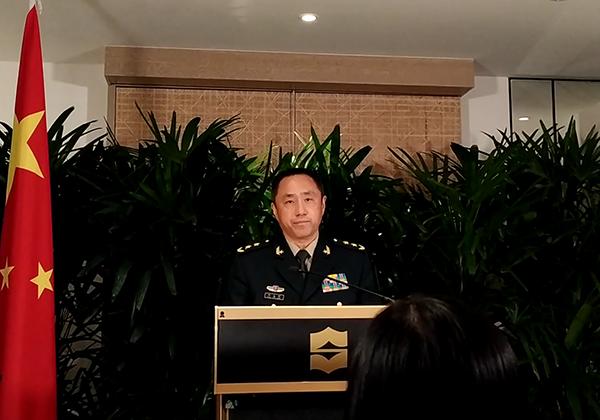 China rebuts US acting defense secretary's remarks on South China Sea