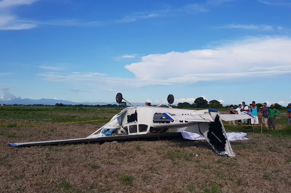 2 injured as training plane crashes in Philippines