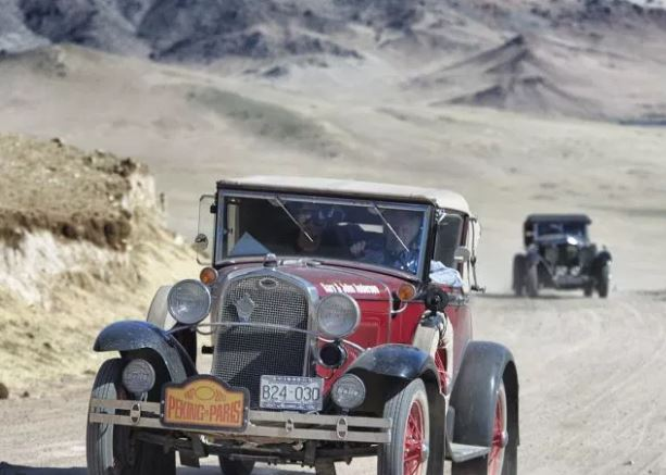 Classic, vintage cars roll out for epic Beijing to Paris endurance drive